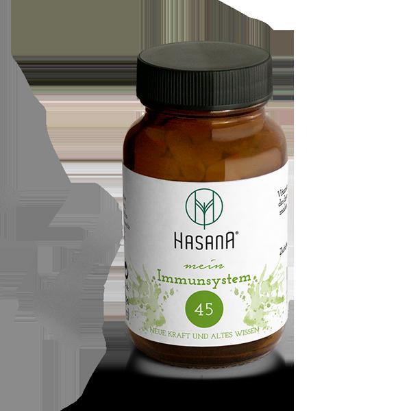 Nahrungsergänzung Naturprodukt mein Immunsystem No. 45